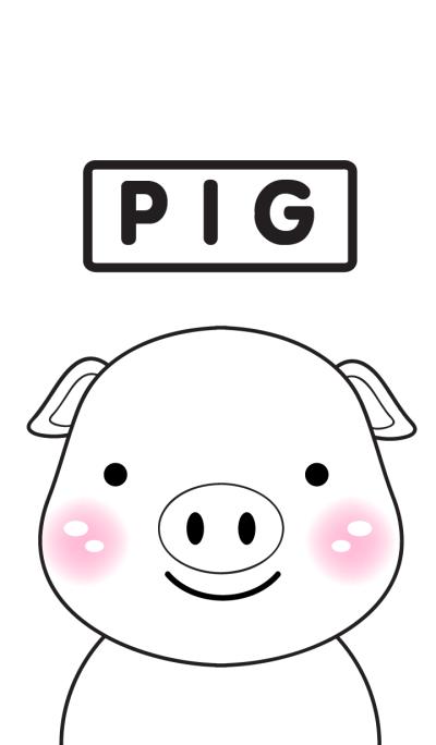 White Pig (cute)(jp)