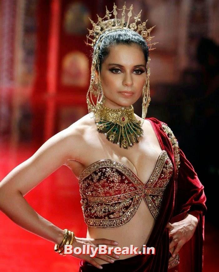 Kangana Ranaut, Kanagana Ranaut in Ancient Dress at  India Bridal Fashion Week 2014