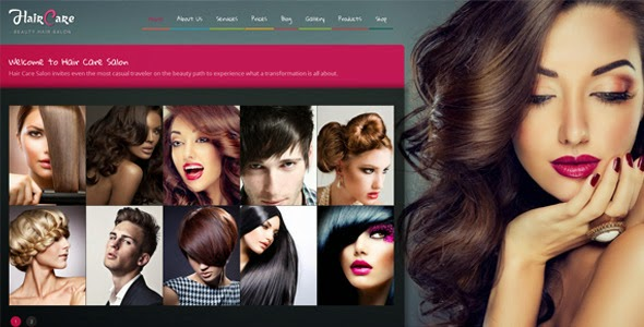 Responsive Salon Template