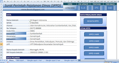 aplikasi sppd surat perintah perjalanan dinas