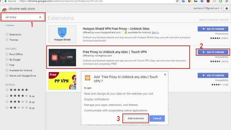 2 Cara mudah membuka situs yang diblokir di Google Chrome melalui sistem operasi windows 7
