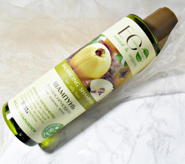 Siła pigwy | EO LABOLATORIE (ECOLAB) | Zrównoważony szampon do przetłuszczających się włosów
