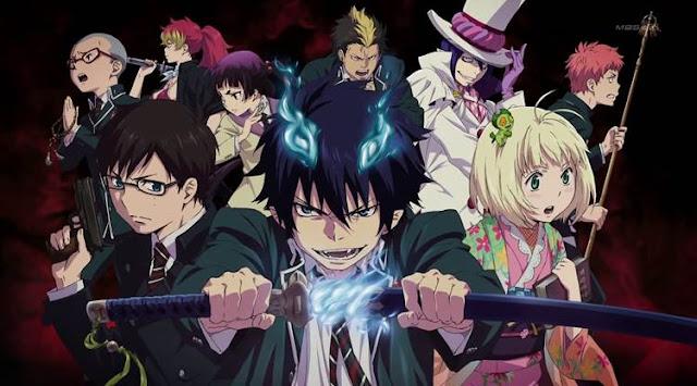 Ao no Exorcist Dan Noragami sama-sama anime supernatural terbaik
