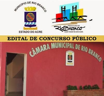 Concurso para Câmara de Rio Branco (AC)