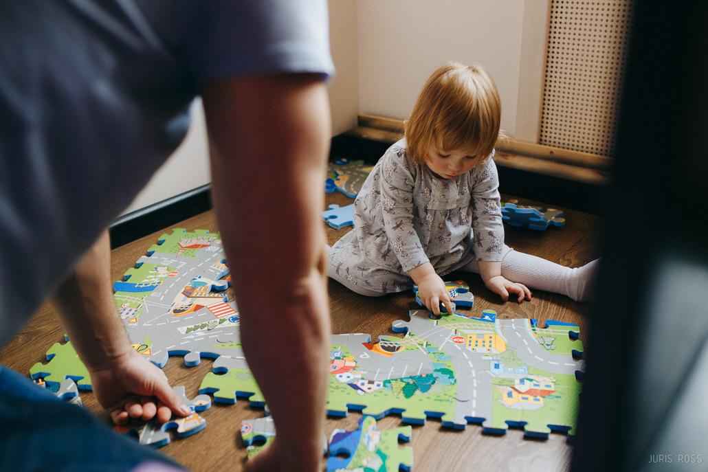 puzles paklājs