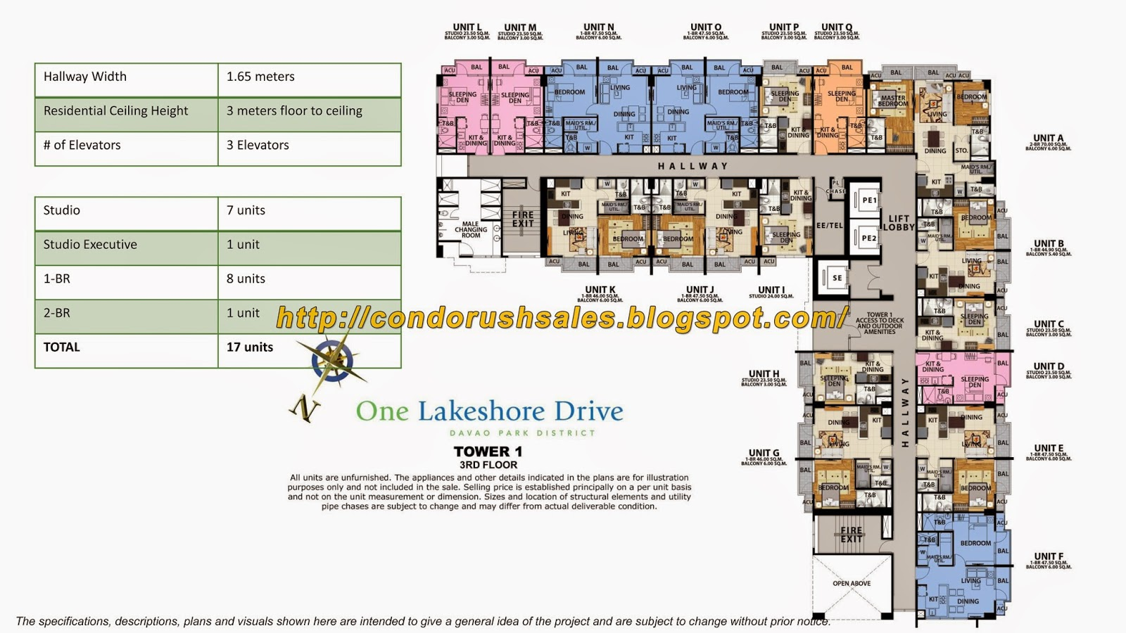One Lakeshore Drive 3rd Floor Units