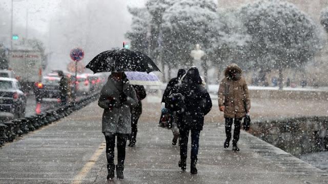 Ψυχρή εισβολή με χιόνια μετά την 25η Μαρτίου (πρόγνωση χάρτες)