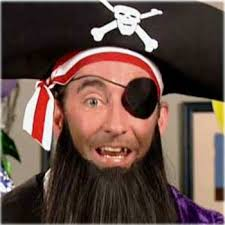 Pirates wear eye patches so that they can see in the dark!