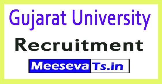 Gujarat University Recruitment