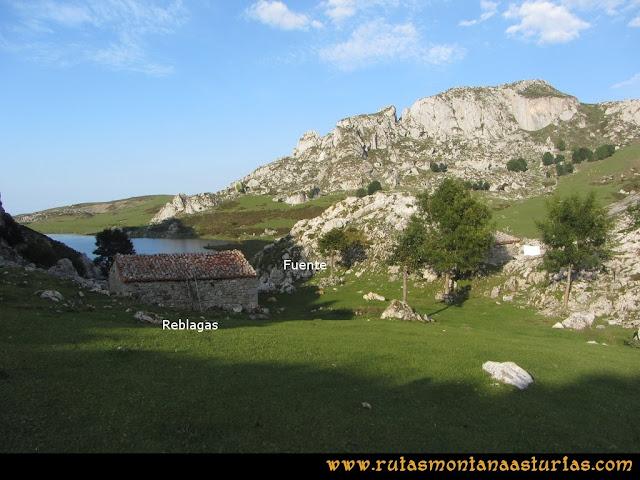 Ruta Ercina, Verdilluenga, Punta Gregoriana, Cabrones: Las Reblagas