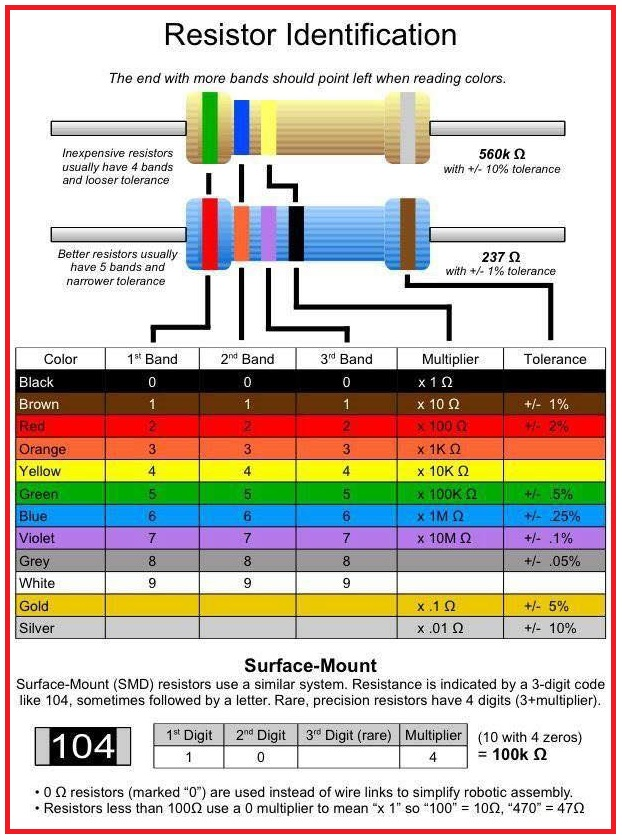 6 Volt To 12 Volt Conversion Wiring Diagram Resistor Identification Eee Community