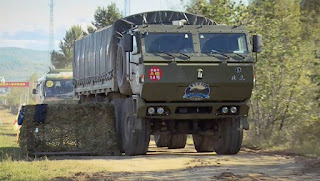 Uji Coba Unmanned Supply Truck 8×8