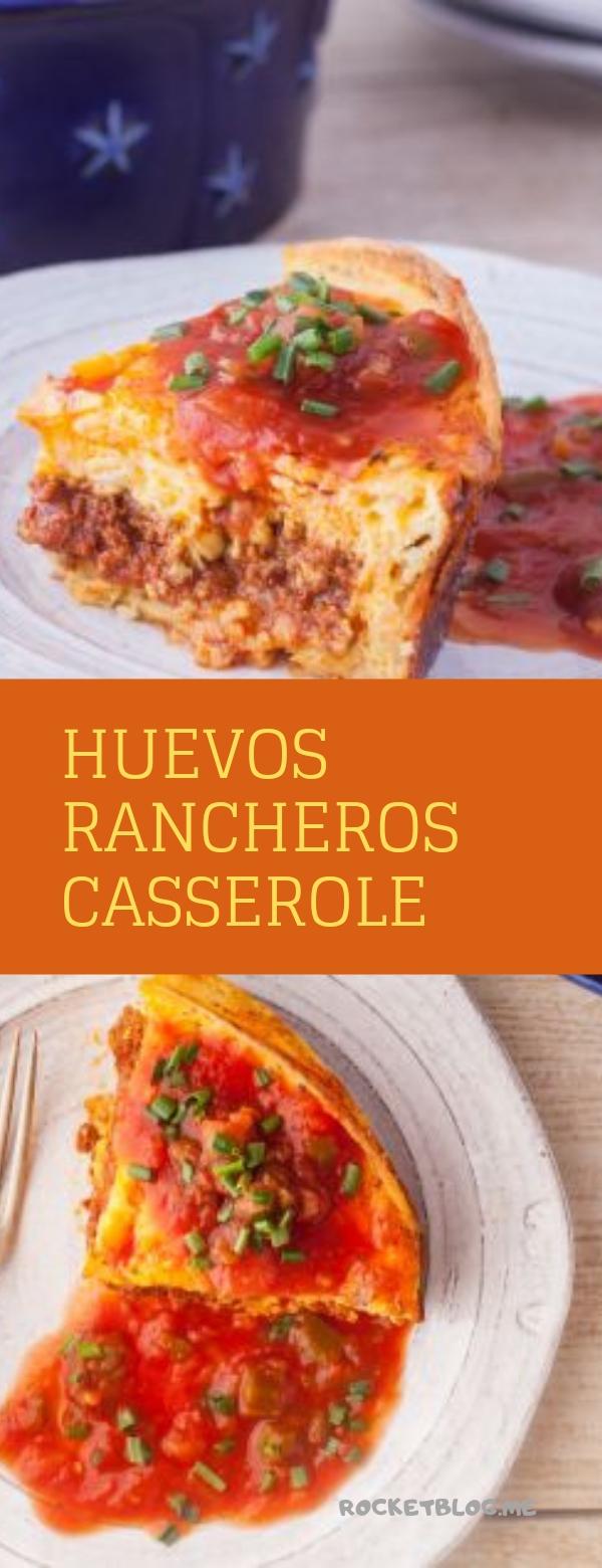 HUEVOS RANCHEROS CASSEROLE #CASSEROLE #DINNER