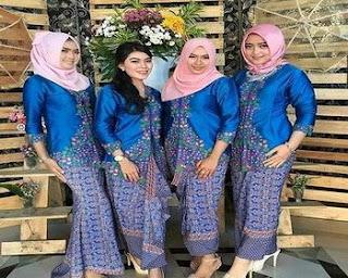 baju batik untuk keluarga besar