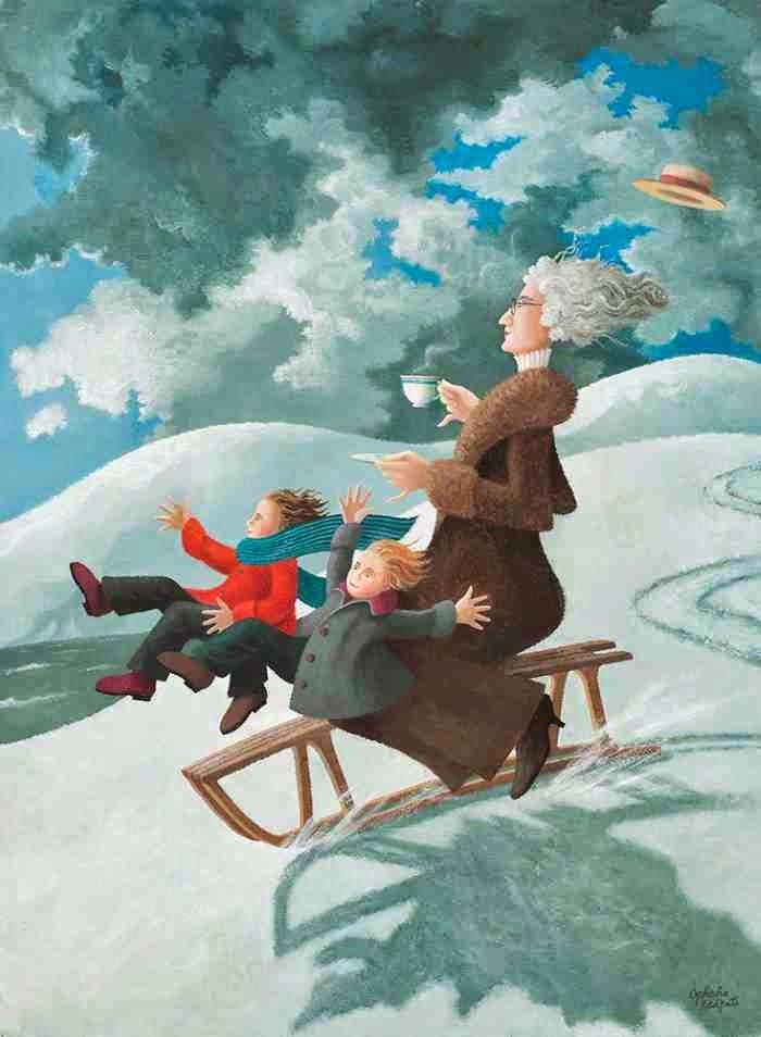 Картины масляной пастелью. Ophelia Redpath