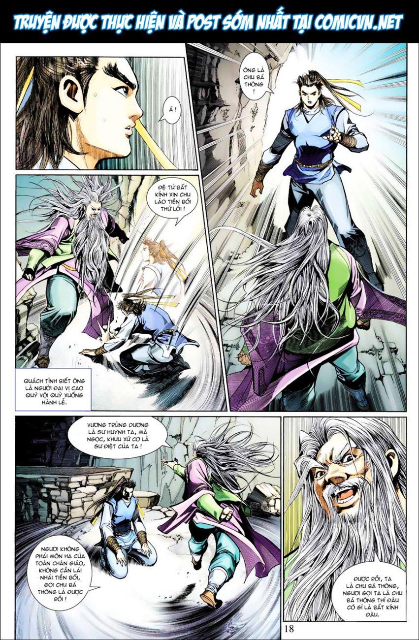 Anh Hùng Xạ Điêu anh hùng xạ đêu chap 40 trang 18