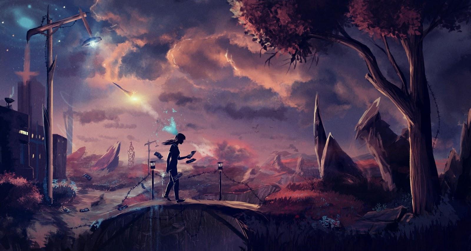 Anime Paisaje Wallpapers De Excelente Calidad