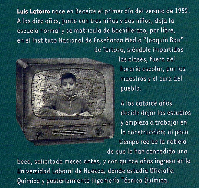 Luis Latorre Albesa nace en Beceite, Beseit,