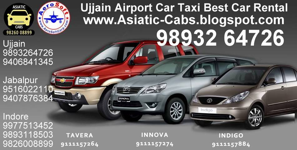 Best Car Taxi MP  Indore Jabalpur Ujjain