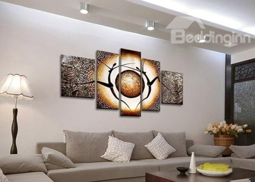 http://www.beddinginn.com/product/Modern-Abstract-Oil-Painting-Style-People-Dancing-5-Panel-Wall-Art-Prints-11546189.html