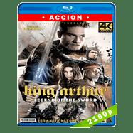 El Rey Arturo: La leyenda de la espada (2017) 4K UHD Audio Dual Latino-Ingles