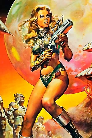 barbarella, jane fonda