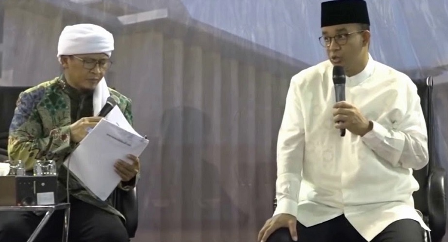 Anies Baswedan dan Aa Gym