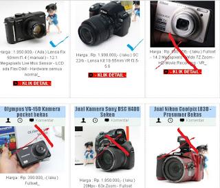 Tips Memilih Kamera Bekas Murah 1 jutaan dengan Hasil Maksimal