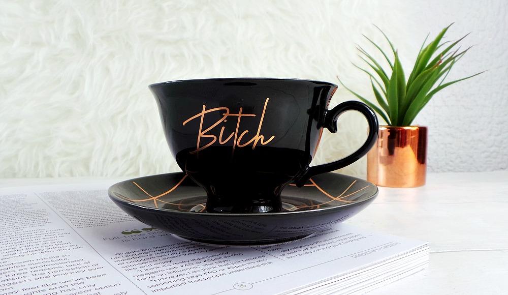 typo bitch tea cup