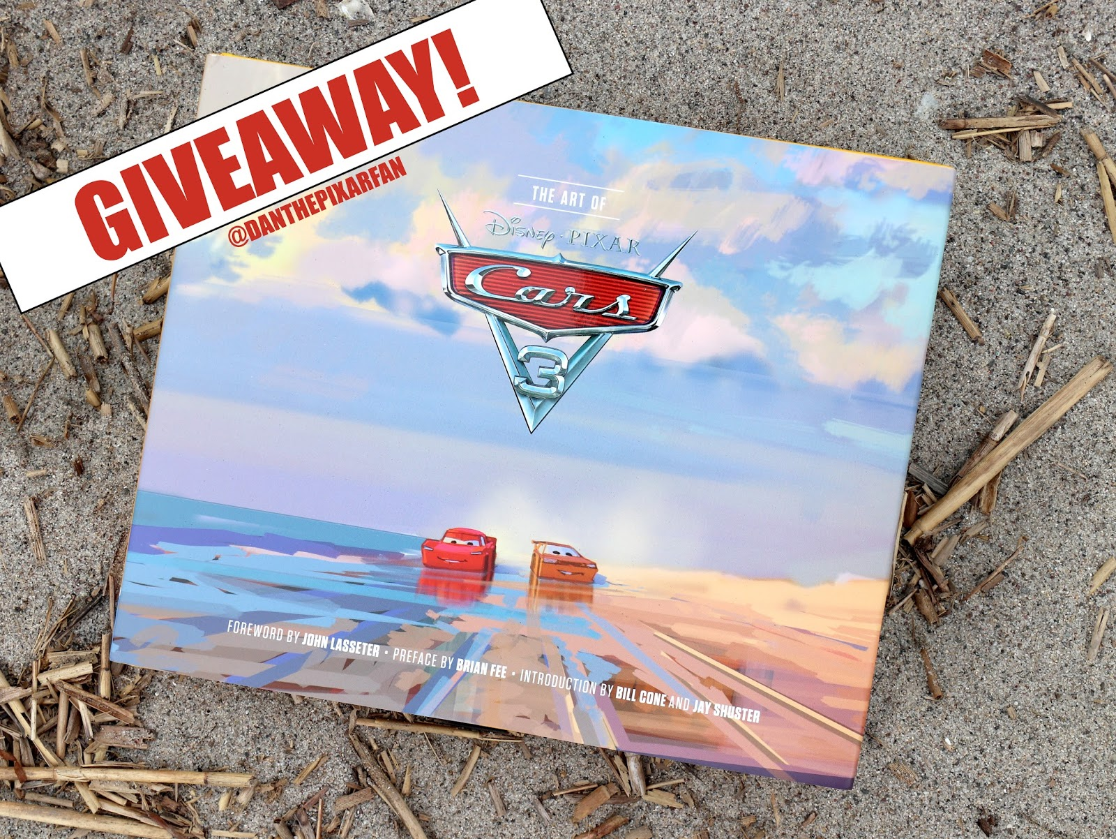 pixar art of cars 3 giveaway