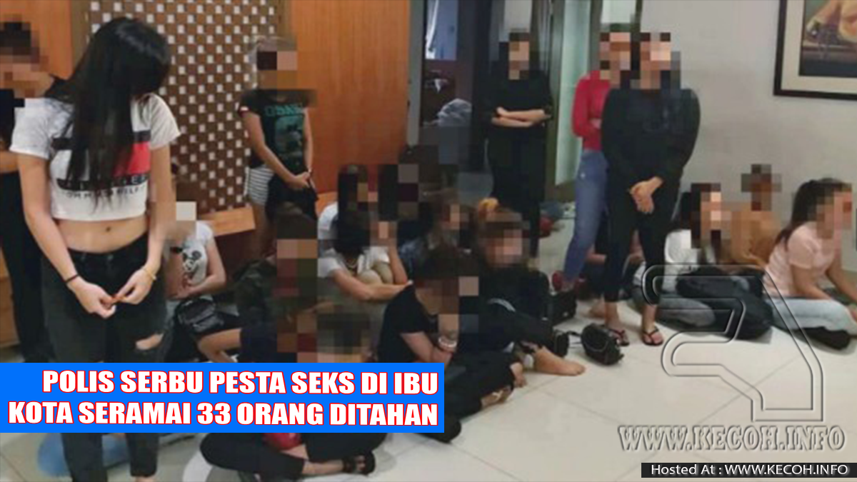 Wanita Berusia 14 Tahun Antara Ditahan Dalam Pesta Liar