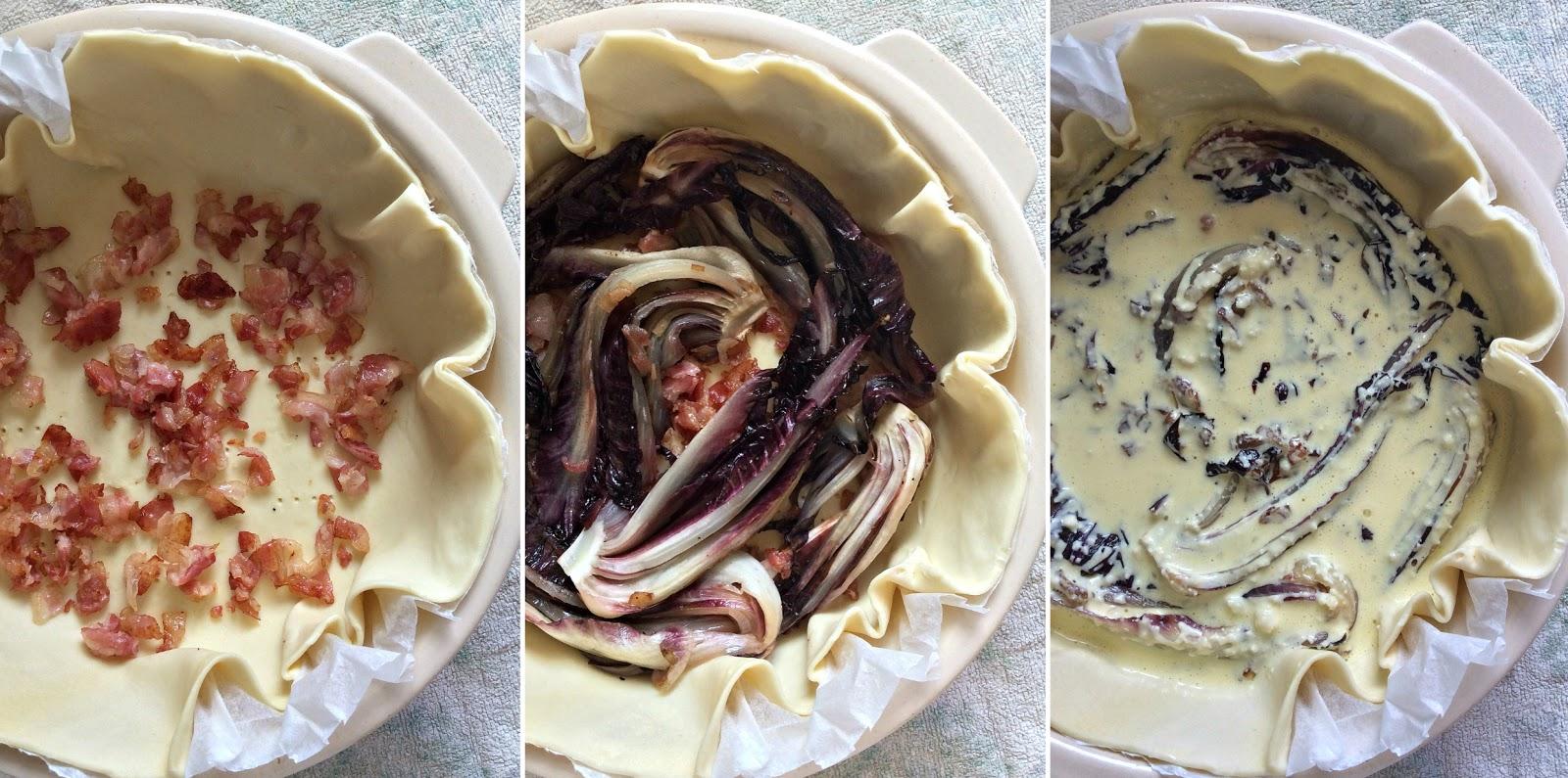 ricetta torta salata con verdure