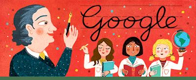 google doodle de Juana Manso