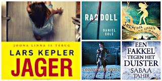 Lars Kepler, Cargo, Daniel Cole, LS, Lesley Livingston, Unieboek|Het Spectrum, Sabaa Tahir