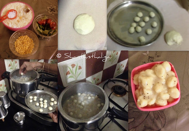 Forgotten food, forgotten indian  food, How to make kallu kozhukattai, How to make vazhukku kozhukattai