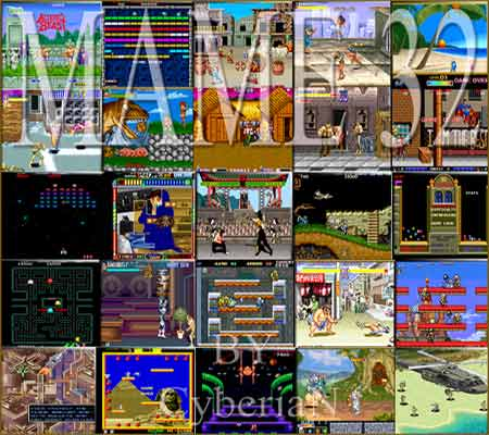 Mame32 Classic Arcade With 1400 Working Games Full Free ...