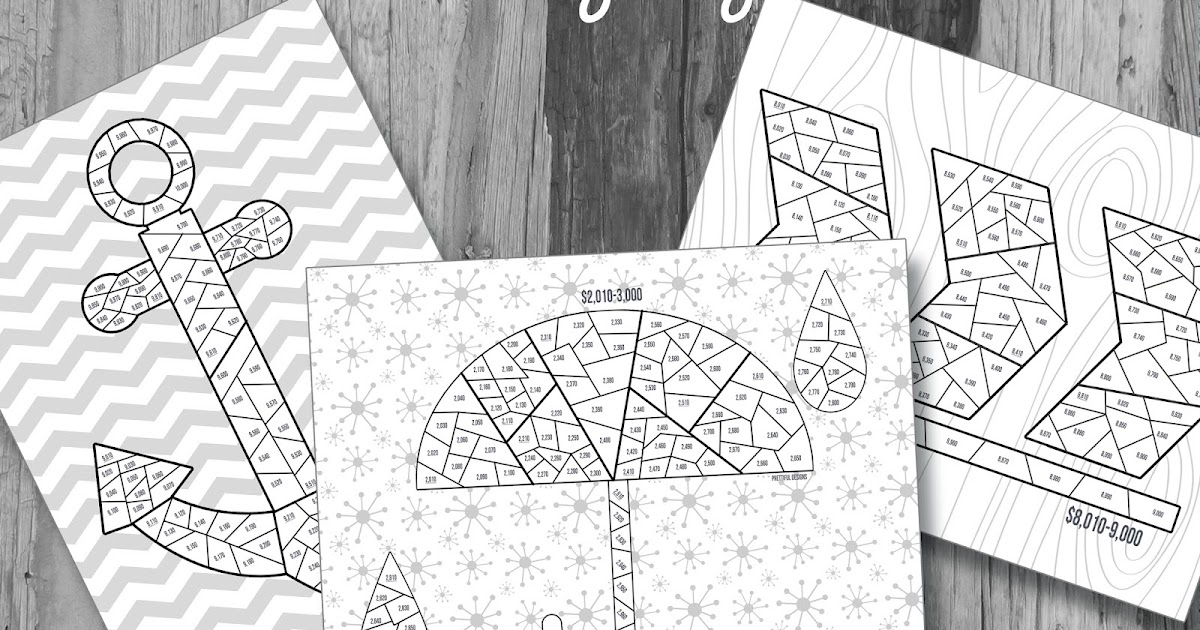 Prettiful Designs Savings Tracker Printable