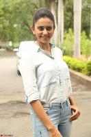 Rakul Preet Singh in Jeans and White Shirt At Jaya Janaki Nayaka le Logo Launch ~  Exclusive 066.JPG