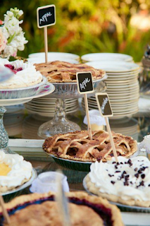 bar à tartes mariage d'hiver  blog mariage www.unjourmonprinceviendra26.com