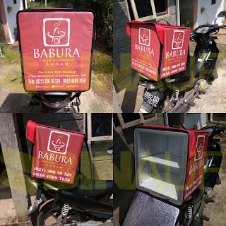 Tas delivery box makanan Surabaya babura