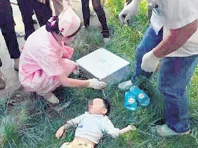 Wanita di Beijing Campak Anak Dari Tingkat 7 Pangsapuri