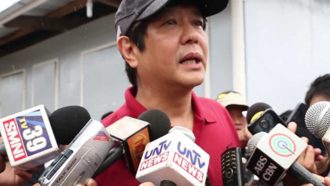VIRAL: WATCH: Marcos SLAMS Media For Unequal Treatment On His Protests About Electoral Fraud
