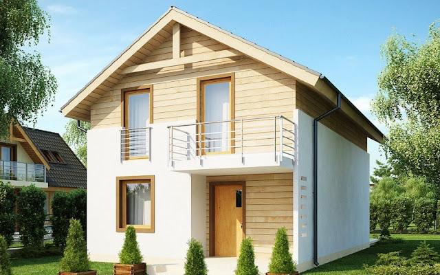 Rumah minimalis sederhana type 36 2 lantai