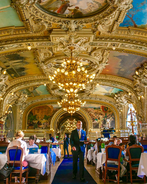 le train bleu paris france interiors
