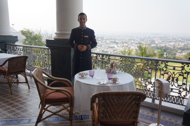 Afternoon tea at the Taj Falaknuma Palace, home to the richest man in the world at one time