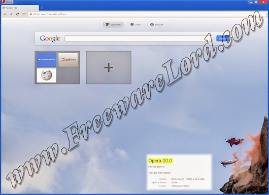 Lord of FreewaresLord of Freewares: Download Latest Opera 20 Standalone Offline Installer