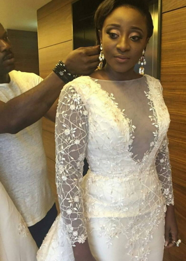 ini edo wedding dress