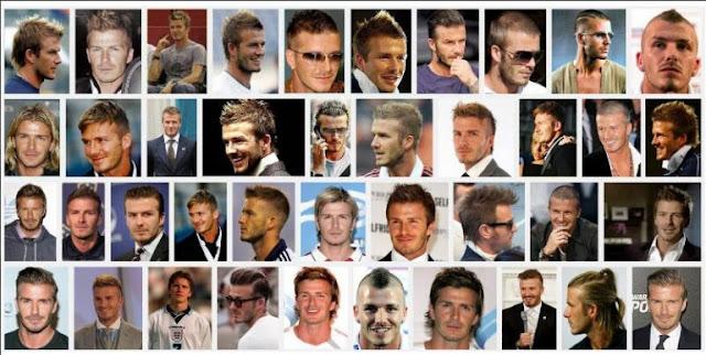 NMĐT - Bộ sưu tập những mẫu tóc của David Beckham