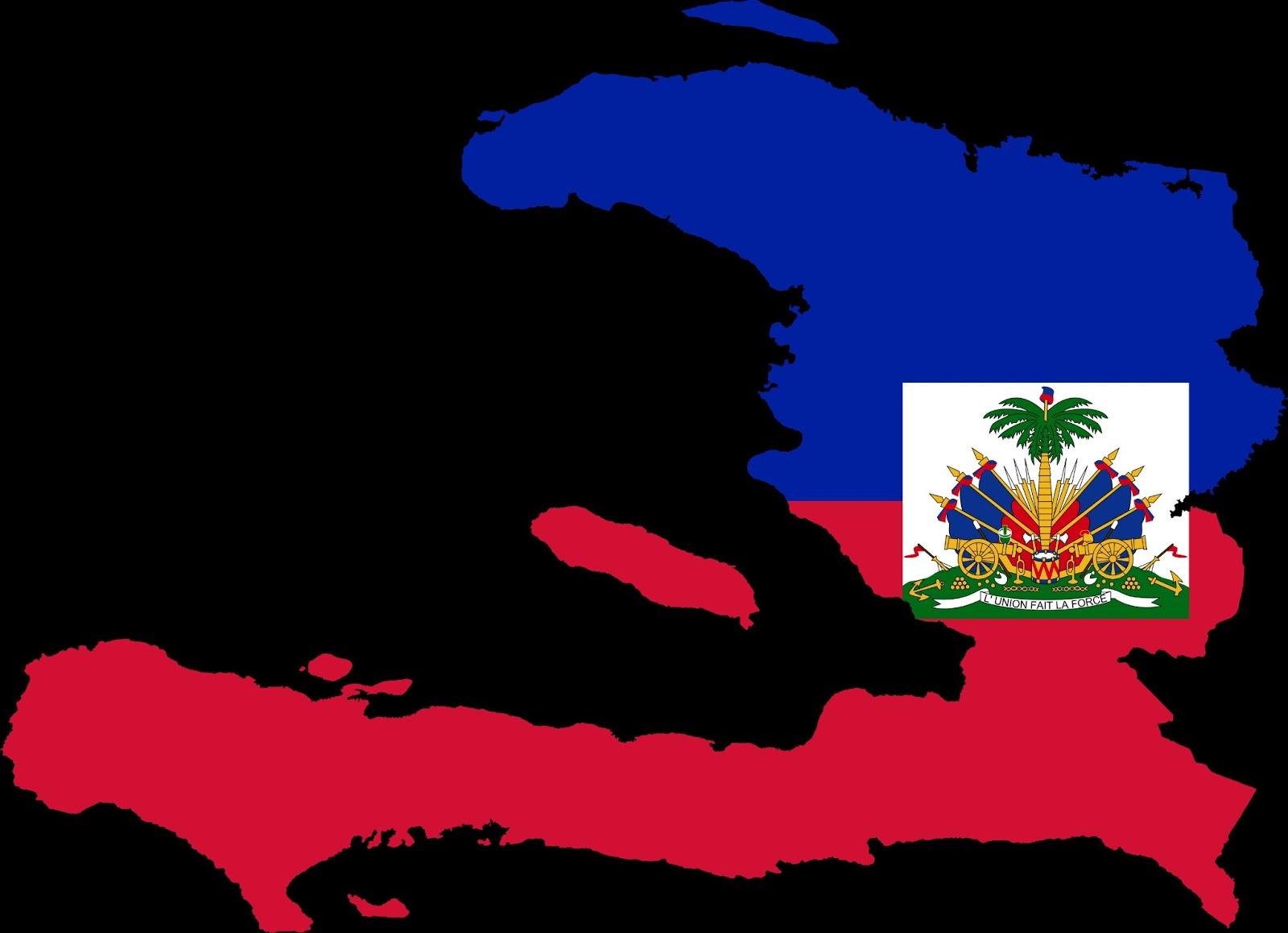 Haiti Flag Map Of Haitian Country