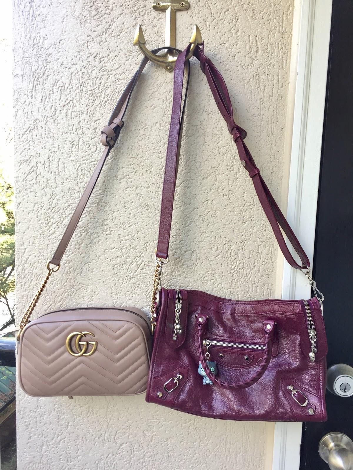 Petite Impact  Review! Gucci GG Marmont Matelasse Shoulder Bag Size ... c22909b3361